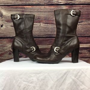 Kenneth ColeReaction size 8.5 women's brown boots